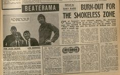 Smokeless Zone - Wish I had time travel to watch them in Swansea in 1966/7
