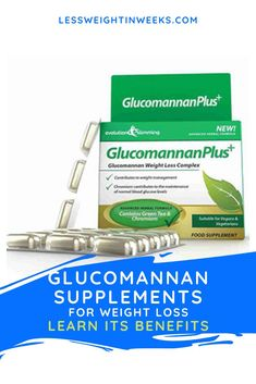 Glucomannan supplement for weight loss. Learn why use Glucomannan in weight loss. It is a fiber that absorbs a lot of liquids, so when you take it it expands in your stomach helping you feel full to avoid overeating. When glucomannan is consumed, it is very helpful for the intestine, since being a water-soluble fiber, it promotes movement. Some people consider it a type of natural and mild laxative. #glucomannanbenefits #glucomannanforweightloss #glucomannanuses Fat Burner Supplements, Fiber Supplements, Supplements For Women, Best Supplements, Natural Supplements, Weight Loss Supplements, Losing Weight Tips, Weight Loss Tips, How To Lose Weight Fast