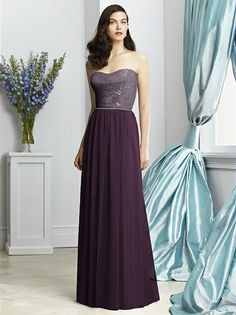 Dessy Collection Style 2925 (shown in aubergine)