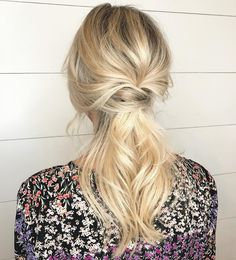 Fancy low Ponytail Hairstyle