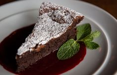 Make a chocolate torte with just five ingredients