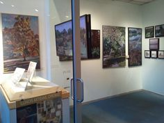 """Landscape Transitions""  Nina Weiss at the Illinois Artisan Gallery, Chicago."