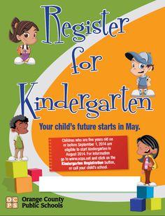 kindergarten flyer template
