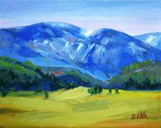 """Colorado Meadow"" - Original Fine Art for Sale - © Judy Wilder Dalton"