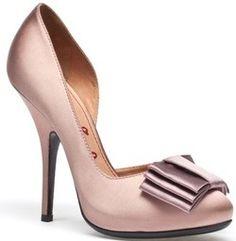 Lanvin flat bow stiletto heel