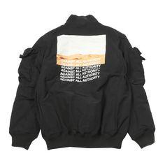 Desert MA-1 Jacket (2.919.950 IDR) ❤ liked on Polyvore featuring outerwear, jackets, flight jacket, bomber style jacket, bomber jacket and blouson jacket