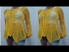 ROPA SOLO PARA MUJERES TEJIDOS A CROCHET Nº 003