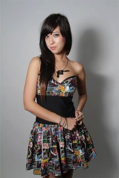 Star Wars Comic Dress by CakeShopCouture on Etsy, $89.99