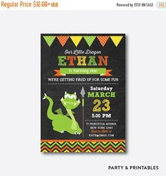 Hey, I found this really awesome Etsy listing at https://www.etsy.com/uk/listing/193992921/15-off-dragon-green-chalkboard-kids