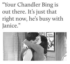 This is so cute - Mondler - Chandler Bing - Monica Geller - Friends - F.R.I.E.N.D.S. - True Love