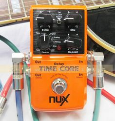 New NUX Effect Pedal -Time Core Up to 7 delay models including analog on AliExpress.com. $72.00