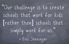 Sheninger Encourages Educators to Build Schools that Work for Students - Getting Smart by Dave Guymon