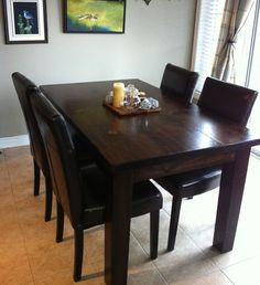 forever interiors - up & down desk - natural finish | tables, Esstisch ideennn