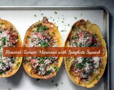 roasted tomato marinara with spaghetti squash