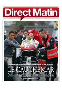Unes du 8 janvier 2015 - presse quotidienne gratuite : Direct Matin