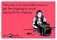 Free Shipping humour