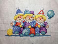 Poekietoe's Handwerkhoekje: Clowntje nr 3