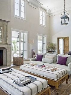 South S Decorating Blog 75 Clean And Fresh White Rooms Coin Salon Ceiling