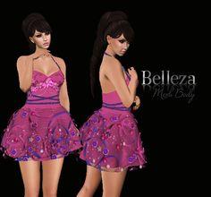 89ce9965e10a Summer Day Pink dress Belleza Venus Pink Dress, Summer Days, Venus, Second  Life