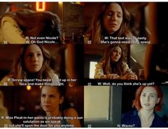 She expected it to be Waverly! #WynonnaEarp S2E9
