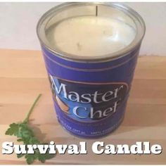 Emergency survival candle! Burns 200+ hr - Mercari: Anyone can buy & sell