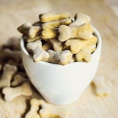 Spoil your doggie with these pumpkin molasses treats.
