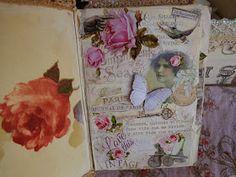 Qué es un Gluebook? :) Es una especie de ''art-journal'' que consiste en collage, solo papel y pegamento. Es contar pequeñas historia...