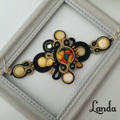 Bracelet Watch, Gemstone Rings, Soutache Jewelry, Gemstones, Instagram, Costumes, Accessories, Fashion, Bangles