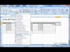 Mostro como criar uma lista de produtos com o preços de custo e calcular o valor de venda em cima de uma porcentagem. É simples, mas muito útil pra quem está...