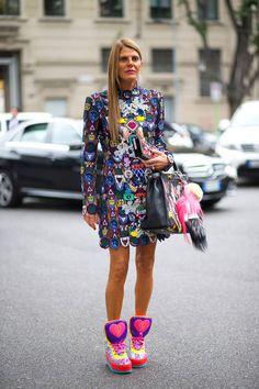 Street Style - Milan Fashion Week Street Style Spring 2015 ADR