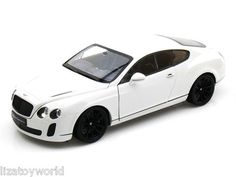 Bentley Continental SuperSports Coupe 1/18 Scale White NEW IN BOX by WELLY