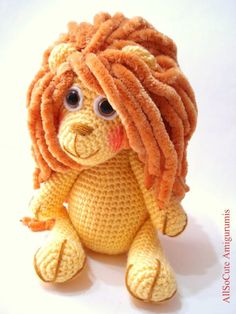 Lion Crochet Pattern (pay $5.07)