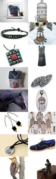 Charcoal treasures by Desiree Malan on Etsy--Pinned with TreasuryPin.com