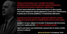 #MarshallMcLuhan #Media #TV #Terrorismo