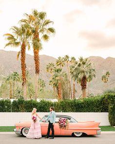 Parker Palm Springs, Palm Springs Style, Modern Vintage Weddings, Los Angeles Wedding Photographer, Elope Wedding, Spring Wedding, Engagement Session, Southern California, California Travel