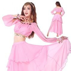 >> Click to Buy << Sexy India Bollywood Belly Dancing Wear Costumes 2pcs/set indian dancing Clothes bellydance Suits for Stage Shows #Affiliate