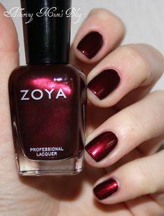Beautiful Zoya Nail Colour | www.ScarlettAvery.com