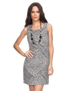 AMARO | Vestido Estampa Geometrica