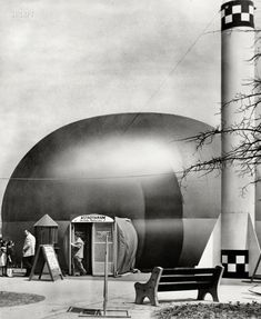 March 31, 1959. The 'Astrotarium,' the world's only planetarium in a big top, makes its first appearance in the New York area at Abraham & Straus (Babylon) during the week of March 30. Admission to the astronomy and space show, sponsored by A to promote public interest in science, will be free. The planetarium will be set up in a parking lot adjacent to A at the Great South Bay Shopping Center.