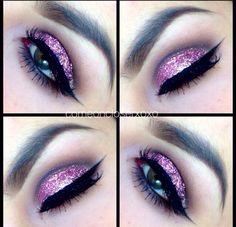 Gorgeous eye glitter!