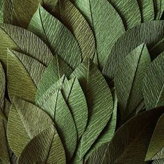 Foliage for a new wreath  Double sided German crepe paper from @luccellomelbourne #foliage #papetal #dsfloral #dstexture