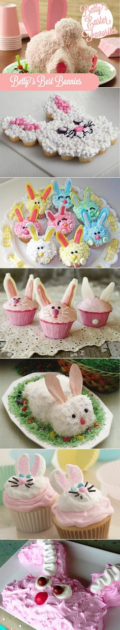Betty's Best Bunnies for Easter Dessert!
