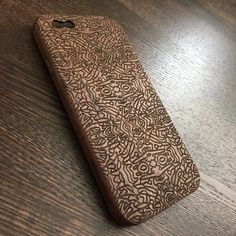 Walnut iPhone Case with engrave / iPhone 6 Cover / iPhone 6 Wood Case / Gift…