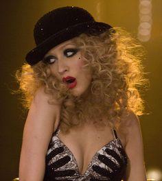 """Christina Aguilera en """"Burlesque"""", 2010"""