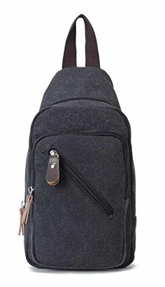 d275697a4466 Lightweight Mini Canvas Backpack for Women Girls Purse Small Rucksack Sling  Bag (Small