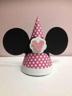 10 Mini  Minnie Mouse birthday Hats by TheCaterpillarsDream