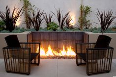 The funny thing about spring is that no matter how hot the days get, the nighttime can be pretty chilly and damp. That's why we know when we build our dream home, it will definitely have an outdoor fire pit.