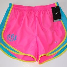 things to try 2013 Monogrammed Nike Shorts!! YEA!!!