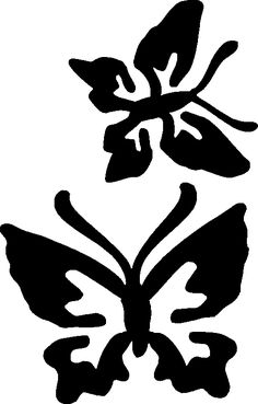 butterfly stencil design