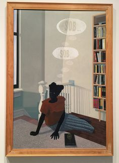 Giselle Ayupova — Kerry James Marshall: Mastry Exhibition at The Met Breuer Black Canadians, Marshal Arts, African American Art, Black Artists, Black History, Art Inspo, Cool Art, Art Projects, Contemporary Art